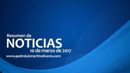Principales noticias 10 de marzo 2017 - Principales noticias 10 de marzo 2017