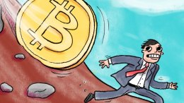 Enterrado Valor del bitcoin se ha desplomado 50 - ¡Enterrado! Valor del bitcoin se ha desplomado 50%
