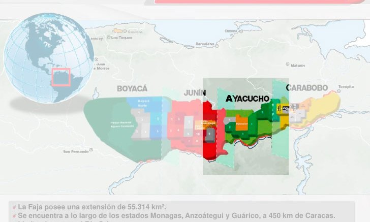 Campo 1 del Bloque Ayacucho será el sustento del Petro - Campo 1 del Bloque Ayacucho será el sustento del Petro
