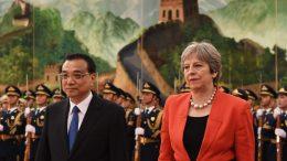 China llena de promesas comerciales al Reino Unido - China llena de promesas comerciales al Reino Unido