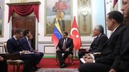 Miraflores abrió sus puertas a delegación económica de Turquía - Miraflores abrió sus puertas a delegación económica de Turquía