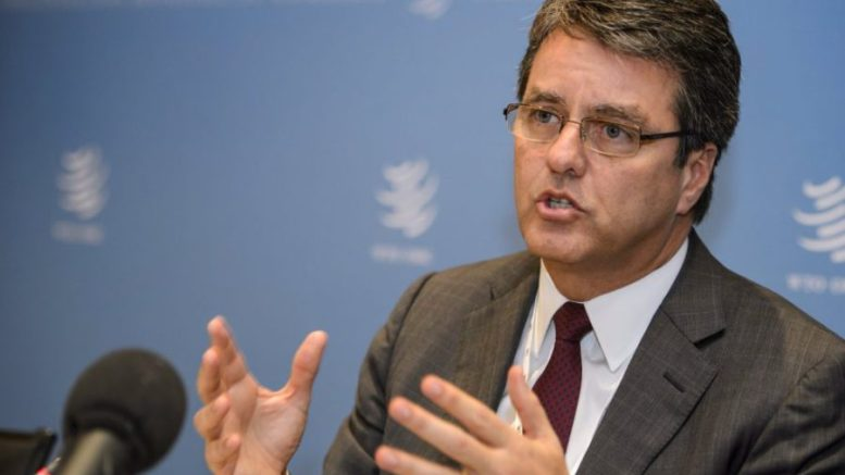 """Director de la OMC cree que el riesgo de una guerra comercial ha aumentado - Director de la OMC cree que el riesgo de una """"guerra comercial"""" ha aumentado"""