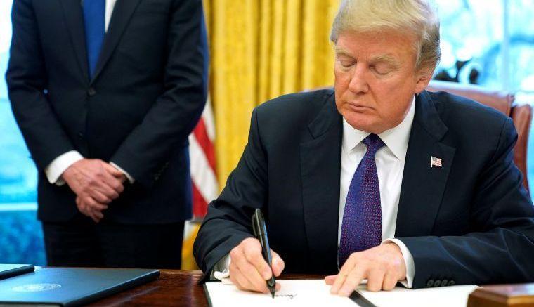 Trump cumplió su amenaza - Trump cumplió su amenaza