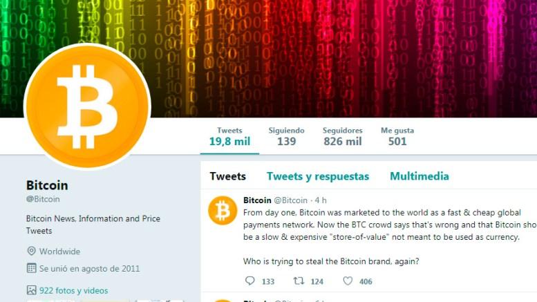 Twitter suspende la cuenta @bitcoin y esto enfurece a los fans del BCH - Twitter suspende la cuenta @bitcoin y esto enfurece a los fans del BCH