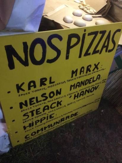 Des pizzas plutôt insolites !