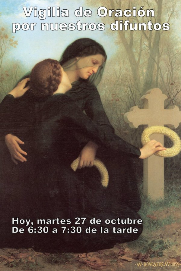 William Adolphe Bouguereau The Day of the Dead 1859b