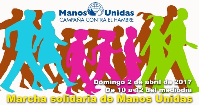 Marcha solidaria de Manos Unidas