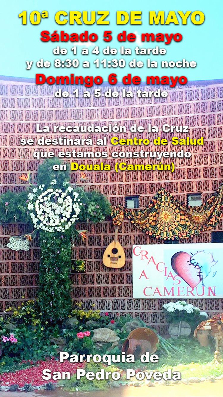 Cruz de Mayo solidaria para Camerún