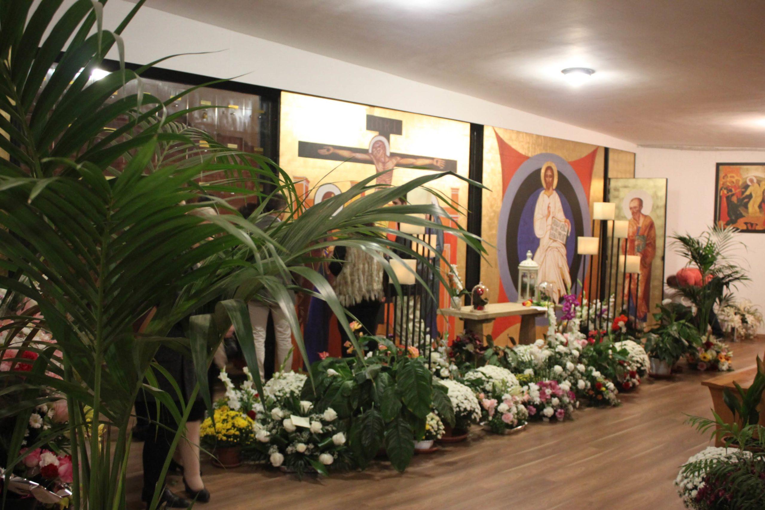 Visitas al Columbario Parroquial