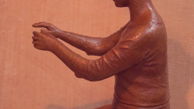 """""""Figura egipcia bronce cobrizo"""""""