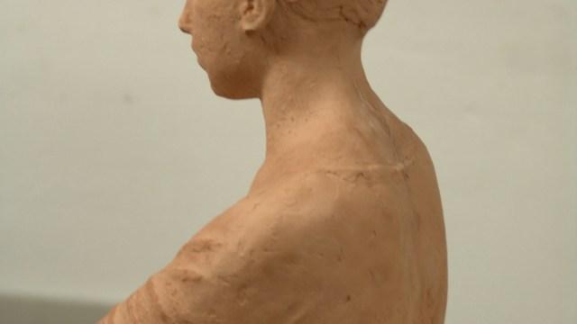 """""""Fragmento figura egipcia"""""""