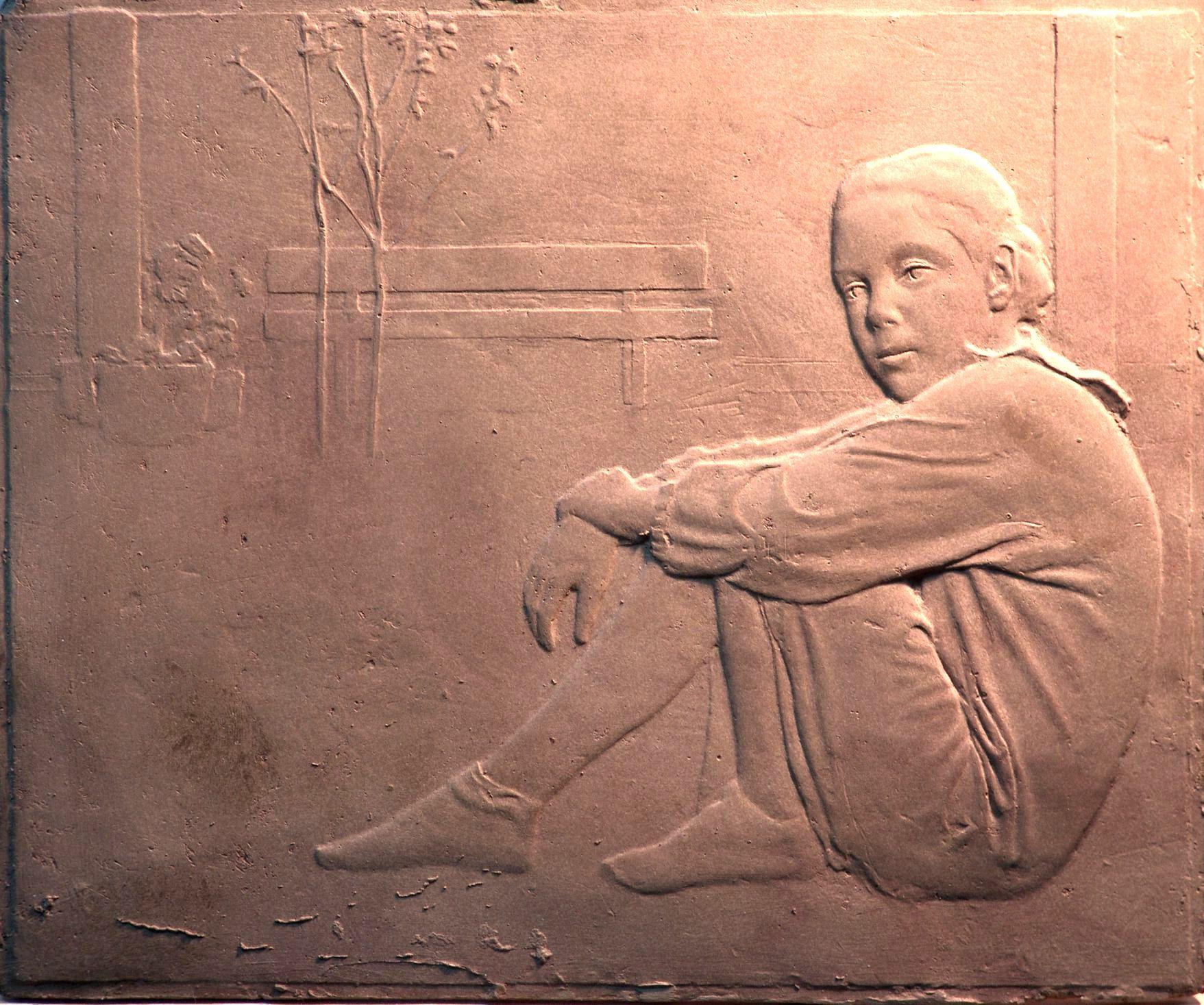 bajorrelieve bronce