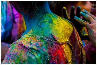 Monsoon Holi, Madrid 2015
