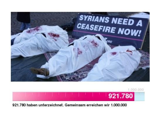 2014-01_HilferufAusSyrien_Avaaz.org