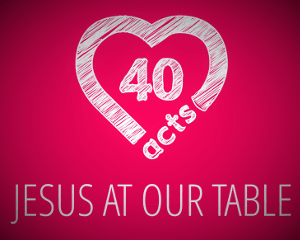 Jesus at our table