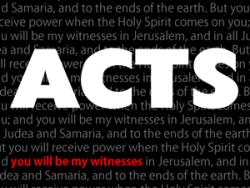 Acts part 2: Wonder