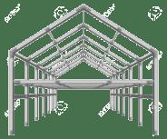 Steel Framed Building