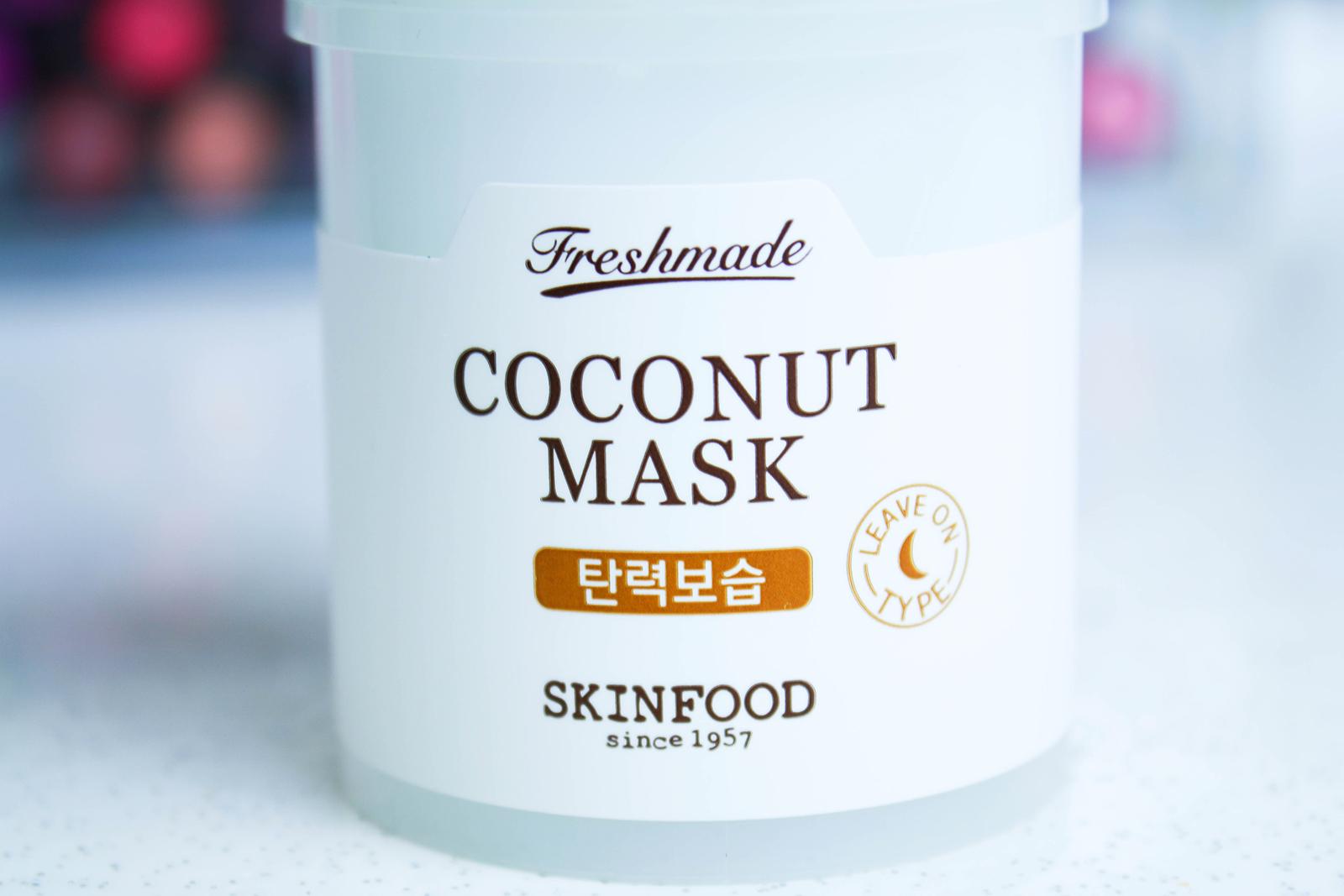 Skinfood Freshmade Coconut masque_3