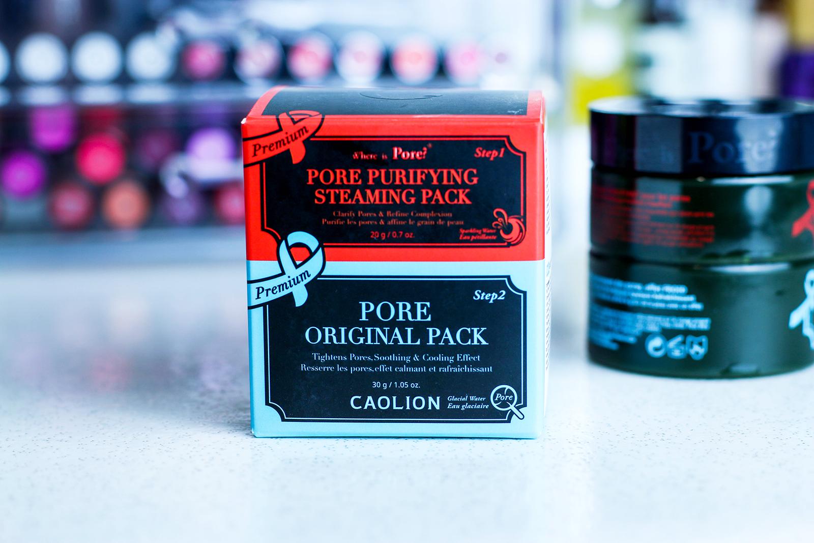 Caolion Duo Premium Masques Pores_2