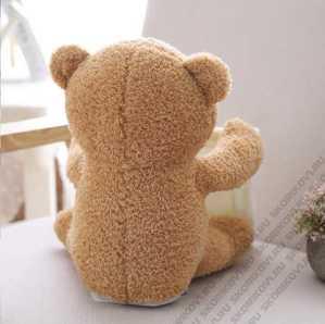 Интерактивный меховой медвежонок PEEKABOO   Мишка КУ-КУ