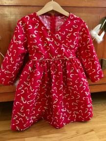 Robe de Noël de Petite pomme