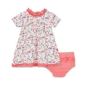 Magnetic Me Beatrix Floral Dress & Diaper Cover