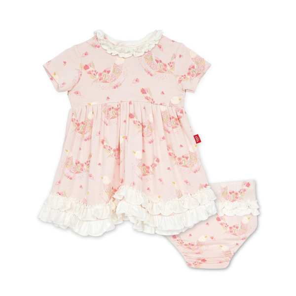 Magnetic Me Birds Of Paradise Dress & Diaper Cover