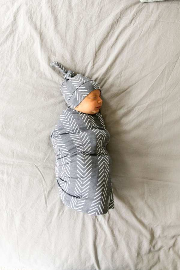 Copper Pearl Canyon Swaddle Blanket