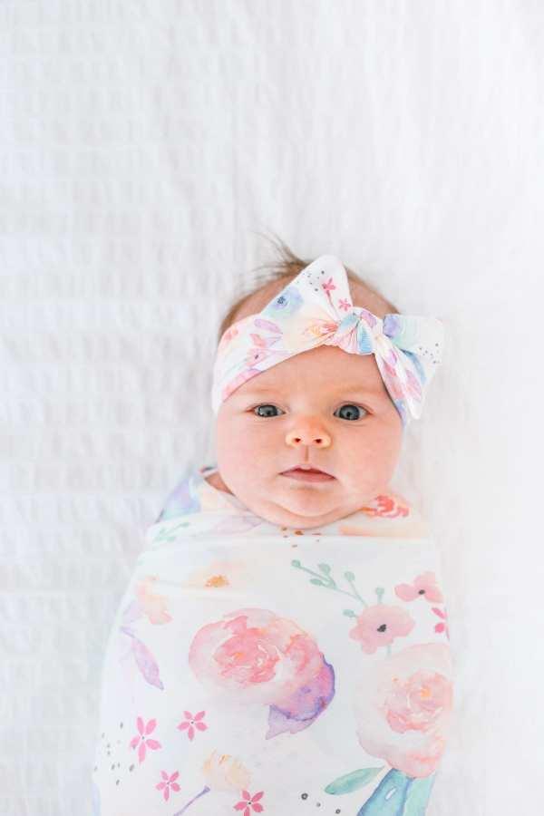Copper Pearl Headband Bow Bloom
