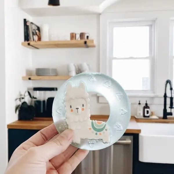 Itzy Ritzy Refrigerator-Safe Water Teether Llama