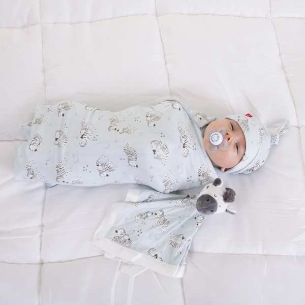 Magnetic Me Blue Little One Swaddle