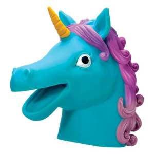 Schylling Blue Unicorn Hand Puppet