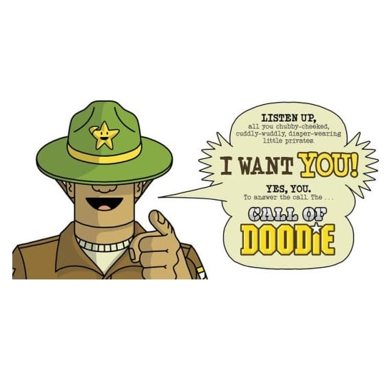 Call of Doodie Book