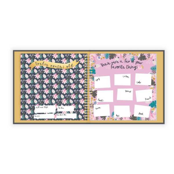 Lucy Darling Golden Blossom Memory Book