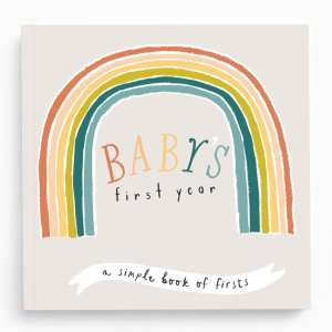Lucy Darling Little Rainbow Memory Baby Book