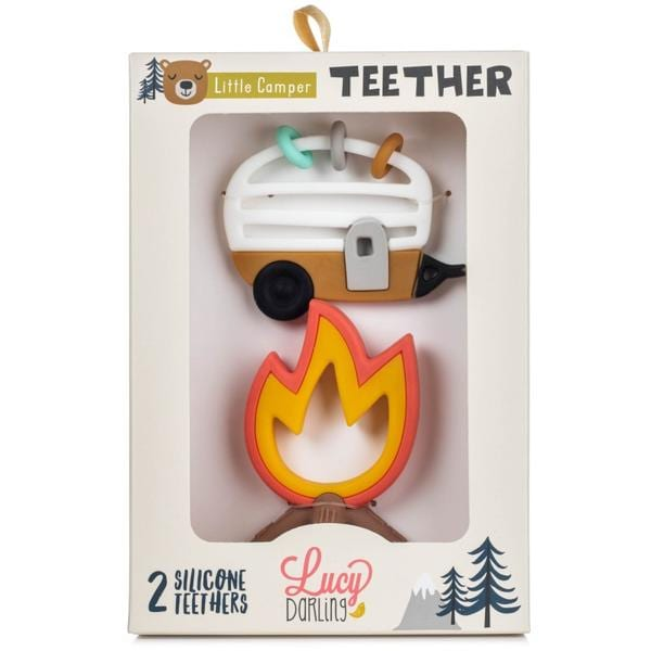 Lucy Darling Little Camper Teethers
