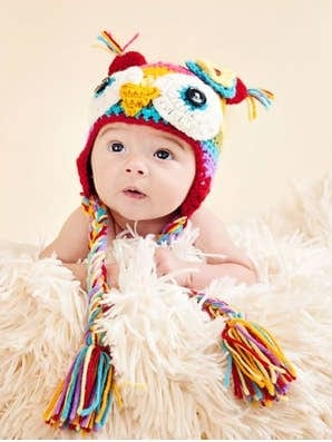 The Daisy Baby Hat Soren Owl