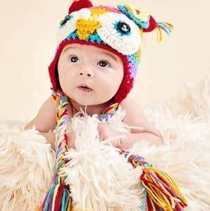The Daisy Baby Hat Soren Owl