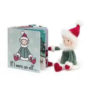 Jellycat If I Were An Elf Board Book