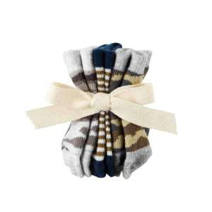 Mud Pie Sock Camo Set Newborn