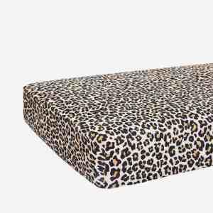 Posh Peanut Lana Leopard Crib Sheet