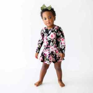 Posh Peanut Holiday 2020_ Milana Long Sleeve with Basic Twirl Skirt Bodysuit