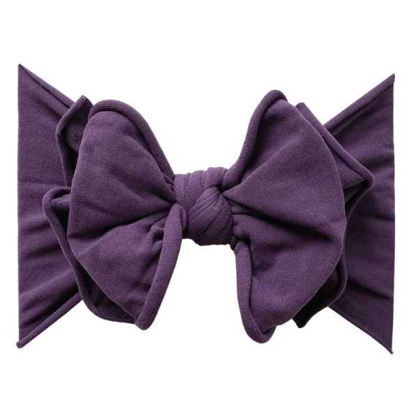 Baby Bling Fab-Bow-Lous - Plum