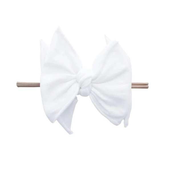 Baby Bling Fab-Bow-Lous SKINNY - White