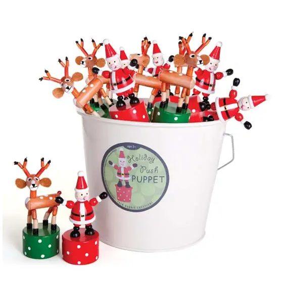 PeekaBoo Baby Christmas Push Puppets Stocking Stuffer Iowa