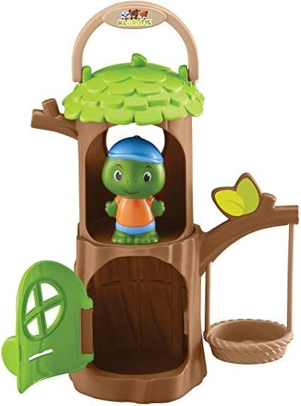 Fat Brain Timber Tots Tree Hut Playset
