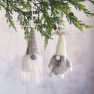 Mud Pie Gnome Christmas Tree Ornaments