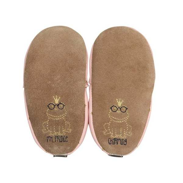 Robeez Soft Soles - Prince Charming Light Pink