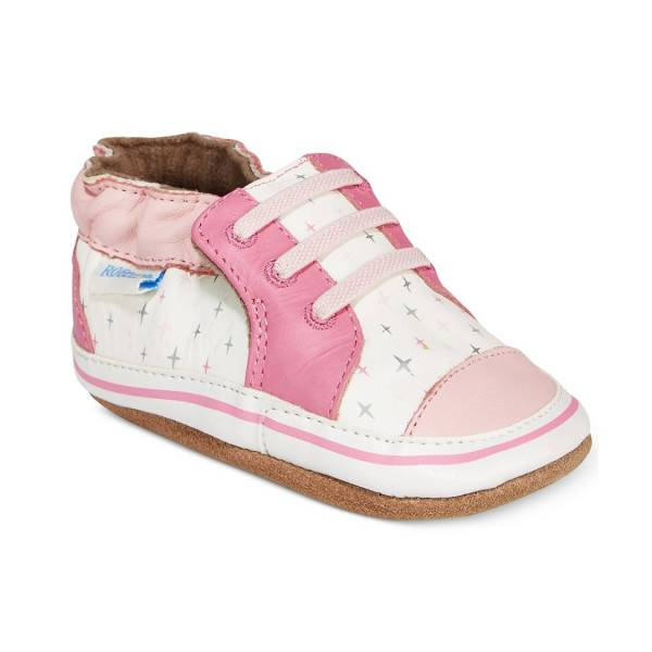 Robeez Soft Soles - Trendy Trainer Pink