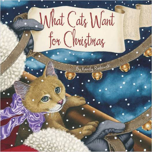 What Cats Want for Christmas Book